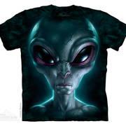 Футболка с изображением пришельцев и коротким рукавом Grey Alien
