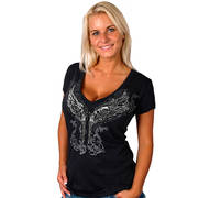 Футболка Леди Байкер Young Guns Ladies Tee