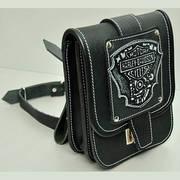 Подсумок кожаный Harley Davidson Motor WP