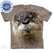 Футболка с изображением грызуна North American River Otter