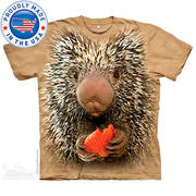 Футболка с изображением грызуна Baby Porcupine