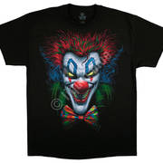 Футболка с изображением клоунов Bow Tie Clown
