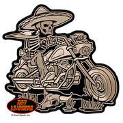 Нашивка Sombrero Skeleton Rider Patch
