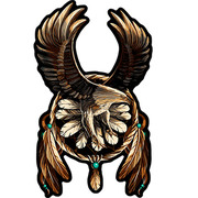 Нашивка Eagle Dream Catcher