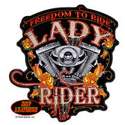 Freedom to Ride Lady Rider