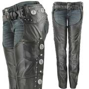 Штаны чапсы Women's Dakota Leather Chaps