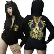 Butterfly Mask Hoodie