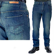 Джинсы Louie Fakie Straight Denim Jeans