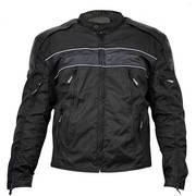 Текстильная мотокуртка Fabric Leather Level-3 Armored