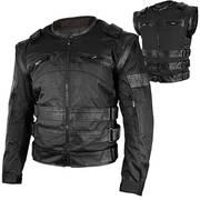 Текстильная мотокуртка Xelement Asylum Black Jacket