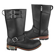 Three Buckle Motorcycle Engineer Boots