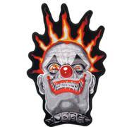 Нашивка Spiked Clown Skull