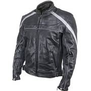 XS-611 Armored Leather Jacket