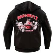 Dragonfly Roadhouse Wolf Pack Collar Hoodie