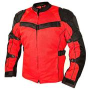 All Season Tri-Tex and Mesh Red Jacket