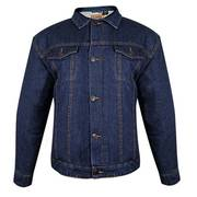 Traditional Western Dark Blue Denim Jacket