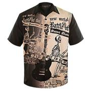 Hollyweird Button up Short Sleeve Shirt