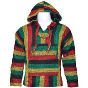 Baja Jacket, Black, Yellow, Red, Green