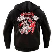 Dragonfly Roadhouse Dead Road Collar Hoodie