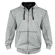 Балахон / Толстовка Xelement Mens Heather Grey Armored Hoodie