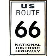 Для Дома Route 66 Sign Metal