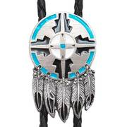 Галстук боло Shield and Feather Bolo Tie