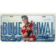 Сувенир / Подарок Blue Hawaii Elvis License Plate