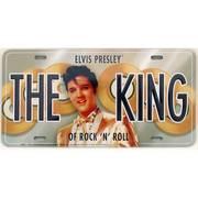 Сувенир / Подарок The King Elvis License Plate