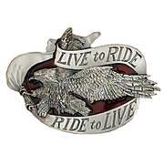 Ременная пряжка Live to Ride Belt Buckle