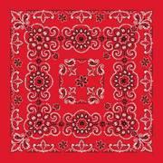 Бандана Red Paisley Bandannas