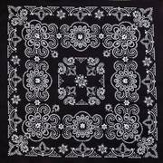 Black Paisley Bandannas