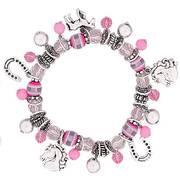 Браслет Stretch Charm Bracelet - Pink