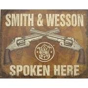 Для Дома Smith and Wesson Metal Sign