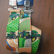 Подтяжки Green Tractor suspenders