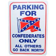 Для Дома New Confederates Parking Only Sign
