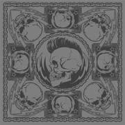 Бандана Punk Skull Bandana
