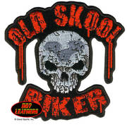 Нашивка Old Skool Biker Patch