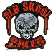 Нашивка Old Skool Biker Patch Big