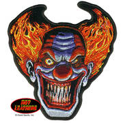 Нашивка Angry Clown Patch