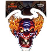 Мото Наклейка Angry Clown Decal