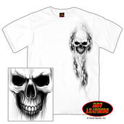 Футболка для байкеров Ghost Skull Double Sided T-shirt