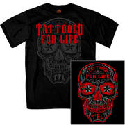 Day of the Dead Tattooed For Life T-Shirt