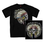 Футболка с изображением индейцев с коротким рукавом Headdress T-Shirt