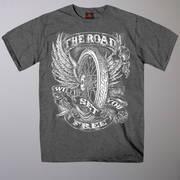 Футболка с коротким рукавом для байкеров Flying Wheel T-Shirt