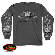 Bad Scratch Long Sleeve Biker Shirt