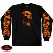 Ancient Skulls Long Sleeve Shirt