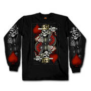Suicide King Long Sleeve Shirt