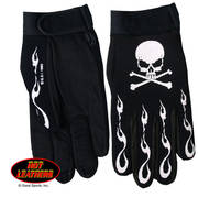 Skull & Crossbones Mechanics Gloves