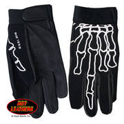 Skeleton Finger Mechanics Gloves