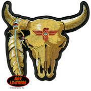 Нашивка Cattle Skull Patch